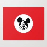 Genosse Mouse Canvas Print