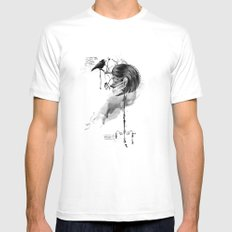 Find me into myself Mens Fitted Tee SMALL White