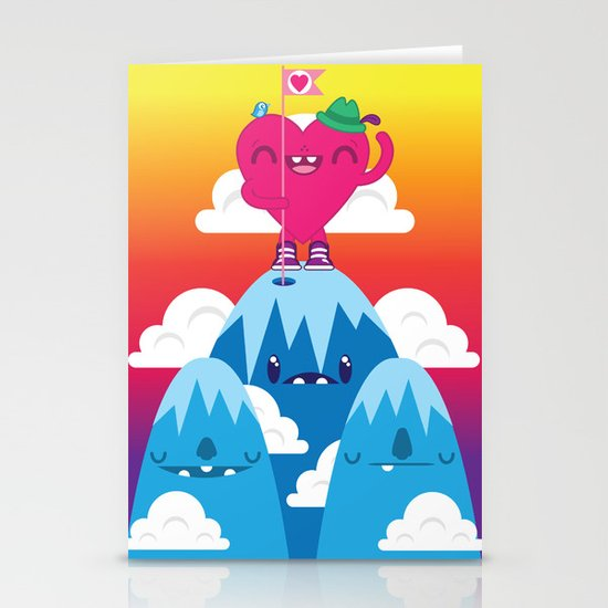 Love on Top Stationery Card