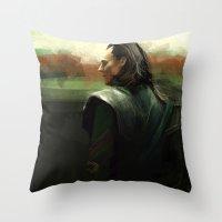 Prisoner Loki  Throw Pillow