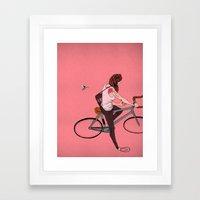 Mesmerism Framed Art Print