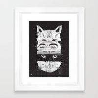 The Cats Framed Art Print