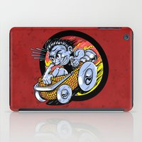 Going to Hell in a Handbasket iPad Case