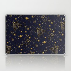 Golden Celestial Bugs  Laptop & iPad Skin
