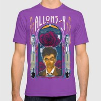 Doctor Who, David Tennan… Mens Fitted Tee Ultraviolet SMALL