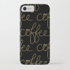Coffee Dots iPhone 7 Slim Case