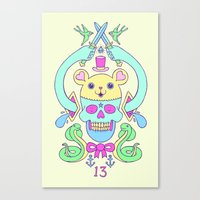 Triskaidekaphilia Canvas Print