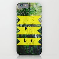 iPhone & iPod Case featuring Let's Run Away: Forest Park by Leah Flores