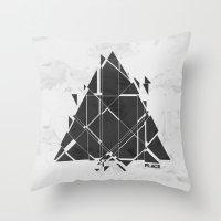 PLACE Triangle V2 Throw Pillow