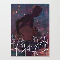 The Wind Deity Canvas Print