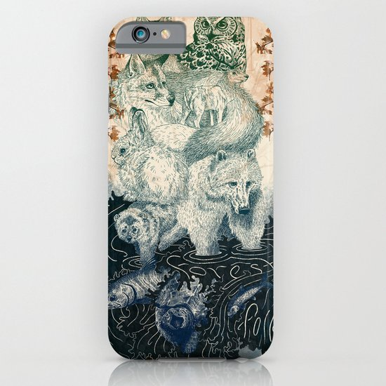 The Forest Folk iPhone & iPod Case