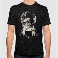 A Good Idea Mens Fitted Tee Tri-Black SMALL