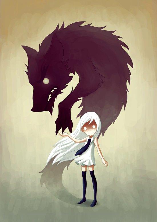 Werewolf Art Print