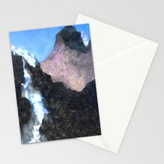 Canadian Mountain Scene Stationery Cards