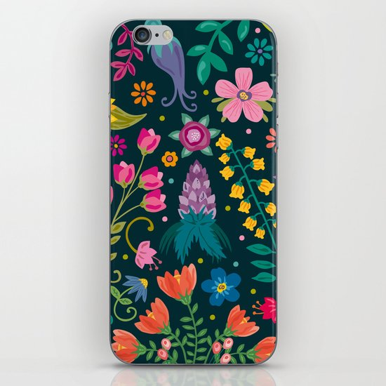 Floral Heart iPhone & iPod Skin