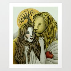 By Sunset Art Print