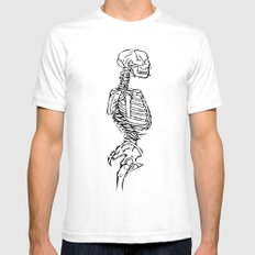 Anatomy Lesson 2 Mens Fitted Tee White SMALL