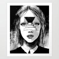 Beyond The Shadows Art Print