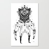 Space Bear Canvas Print