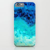 ocean iPhone & iPod Cases featuring INVITE TO BLUE by Catspaws