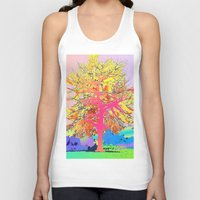 Color Tree Unisex Tank Top