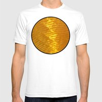 Reflector Mens Fitted Tee White SMALL