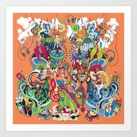These Sounds Fall into My Mind Art Print