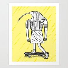 EGYPTiAN GODZ  ~ THOTH Art Print