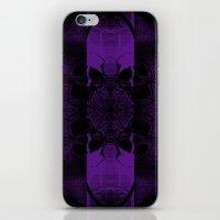 Transmitting Craniums [Purple] iPhone & iPod Skin