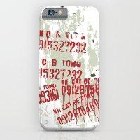 Spray iPhone 6 Slim Case