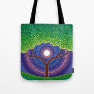 Happy Tree Of Life Tote Bag
