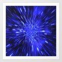 Exploding Star Art Print