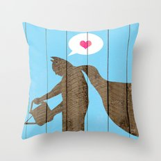 Be yourself... Throw Pillow