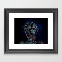 Vines And Confines  Framed Art Print