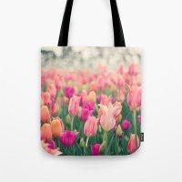 Tulips at Cheekwood Tote Bag