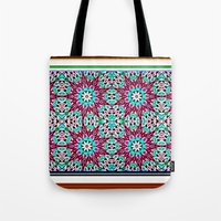 Windy Garden Tote Bag