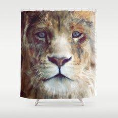 Lion // Majesty Shower Curtain