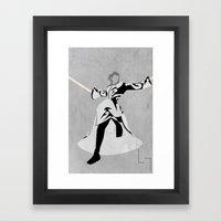 Xemnas Framed Art Print