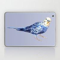 Blueberry the Budgie Laptop & iPad Skin