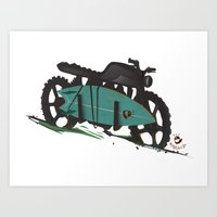 The Bike Art Print