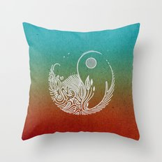 Wandering Days Throw Pillow