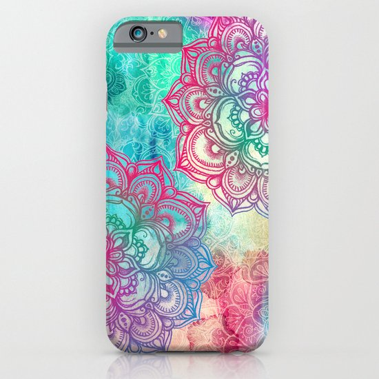 Round & Round the Rainbow iPhone & iPod Case