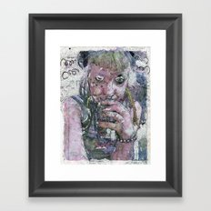 King Cobra Framed Art Print