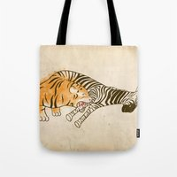A Self Containing Food Chain Tote Bag