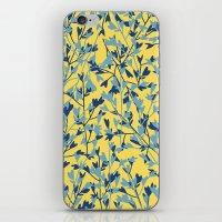 HEARTS PLANTATION [yellow] iPhone & iPod Skin