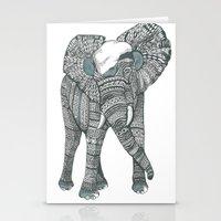 Humble Elephant Stationery Cards