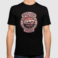 The Awaken Sheep (varian… Mens Fitted Tee Black SMALL