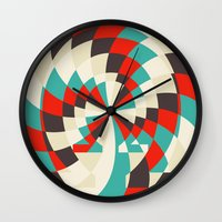Horseshoes (Available in the Society 6 Shop!) Wall Clock