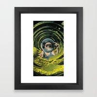 Close Inspection Framed Art Print