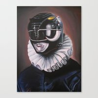 Portrait Of A Black Rang… Canvas Print